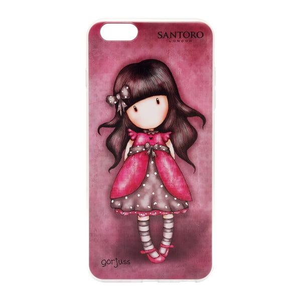 Červený obal na iPhone 6 Plus /6S Plus Santoro London Lady Bird