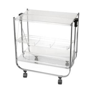 Skládací stolek Brandani Chariot Pliable Transparent