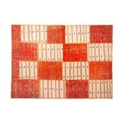 Vlněný koberec Allmode Orange Kilim, 180x120 cm