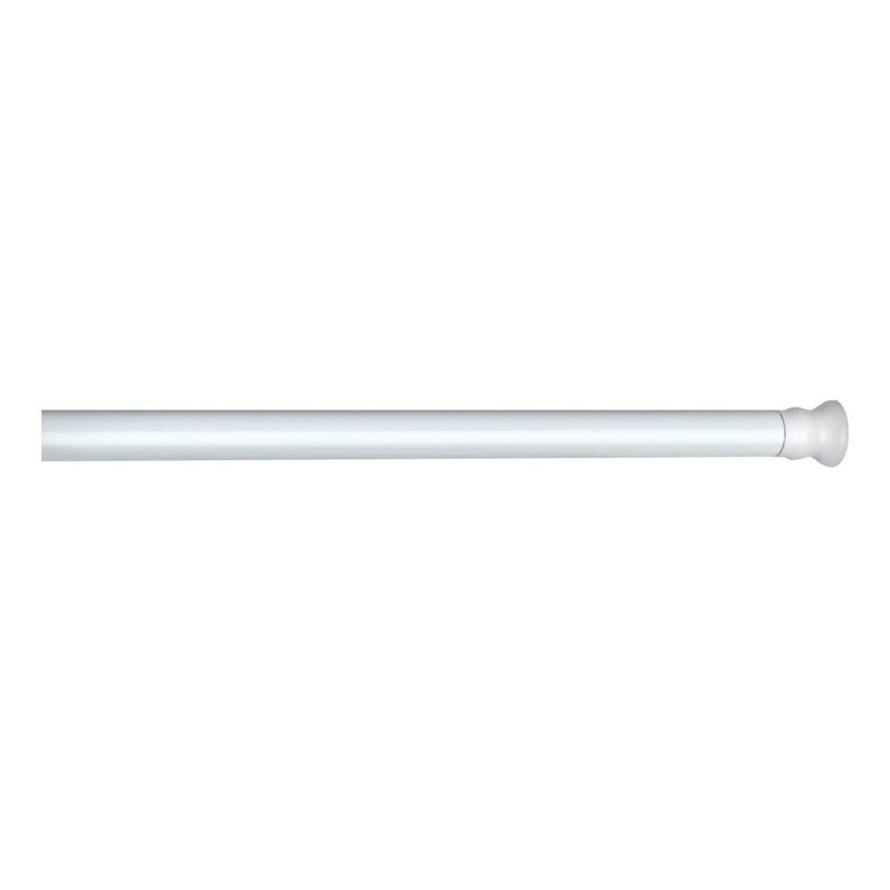 Bílá teleskopická tyč na sprchový závěs Wenko Shower Curtain Rod Wenko