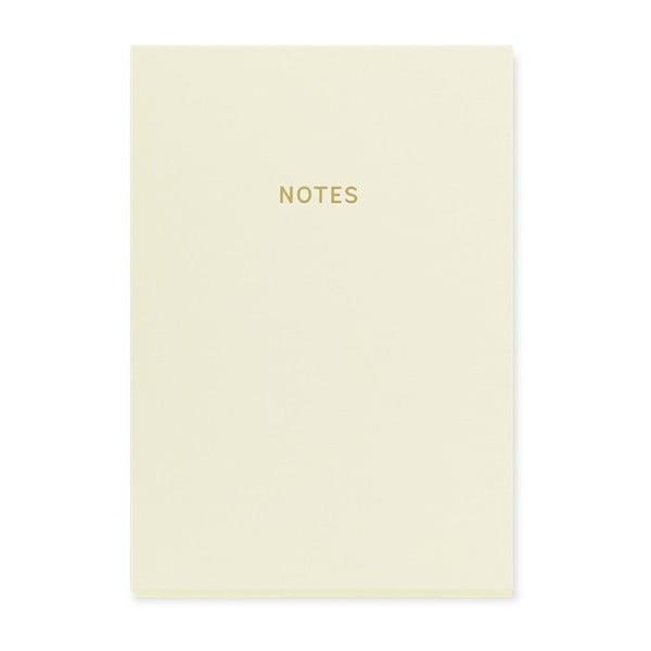 Bílý zápisník A5 GO Stationery Glam
