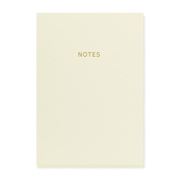 Biały notes A5 GO Stationery Glam