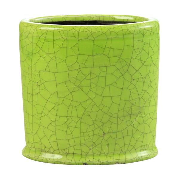 Květináč Binc 26 cm, zelený