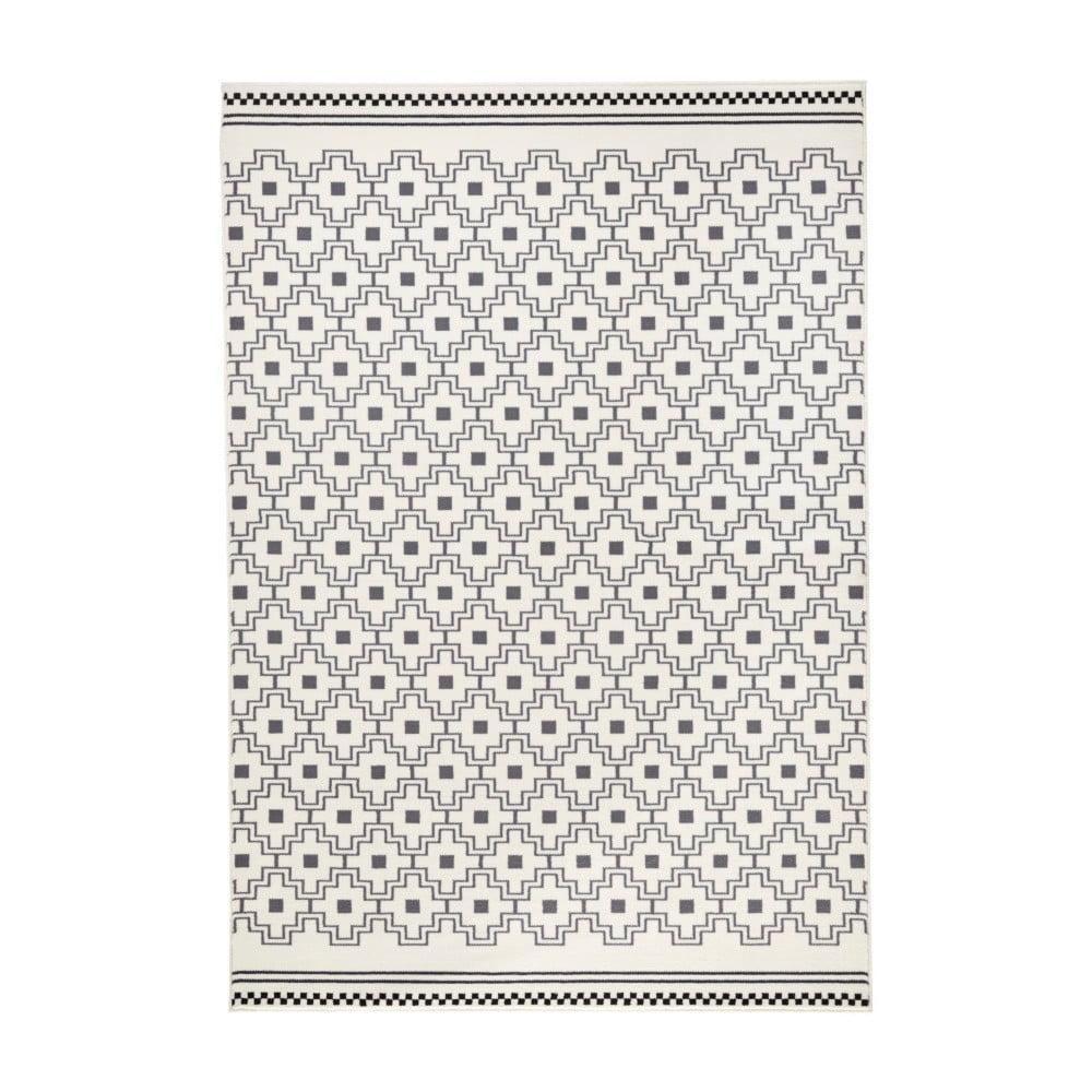 Černo-bílý koberec Zala Living Capri, 160 x 230 cm