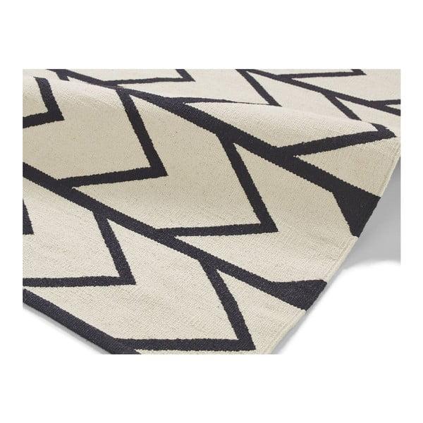 Černo-bílý koberec Think Rugs Manhattan, 150x230cm