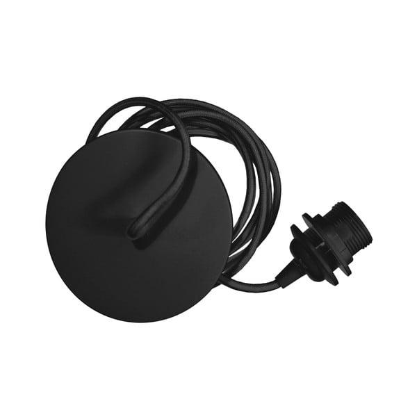Černý závěsný kabel ke svítidlům VITA Copenhagen Rosette, délka210cm