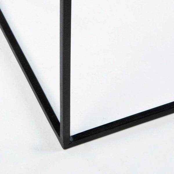 Černý kovový konzolový stolek Thai Natura