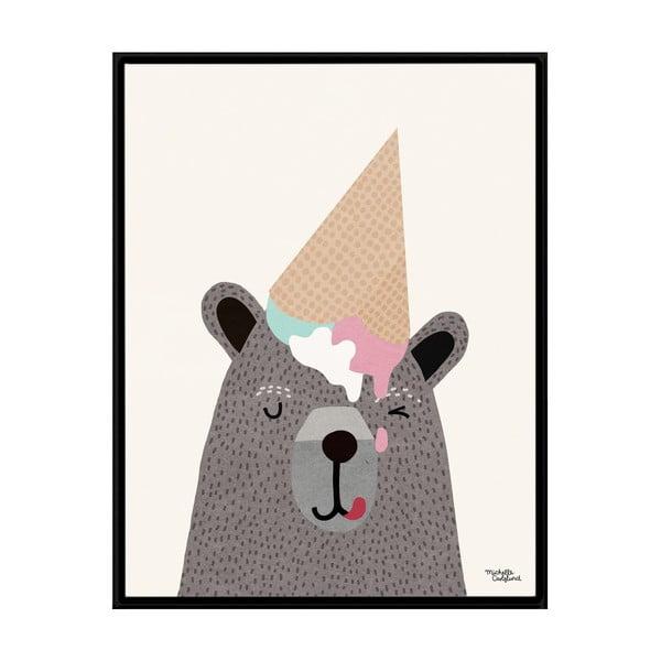 Plakát Michelle Carlslund I Love Icecream, 30x40cm