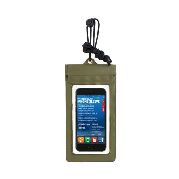 Zielone wodoodporne etui na telefon Kikkerland