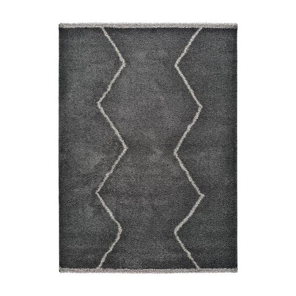 Covor Univseral Kasbah Sharp, 80 x 150 cm, negru