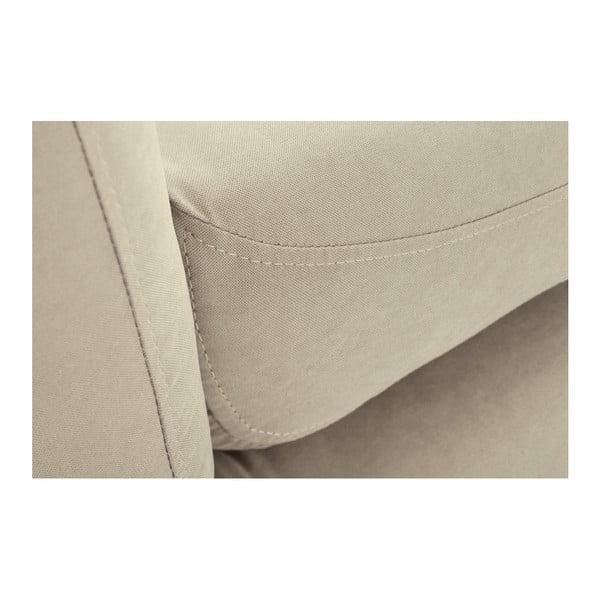 Colțar cu șezlong pe partea stângă Scandi by Stella Cadente Maison, bej