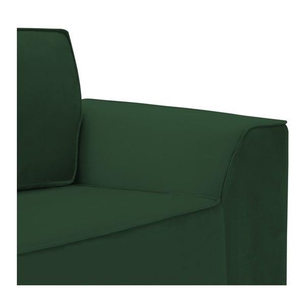 Zelená trojmístná pohovka Vivonita Bronson