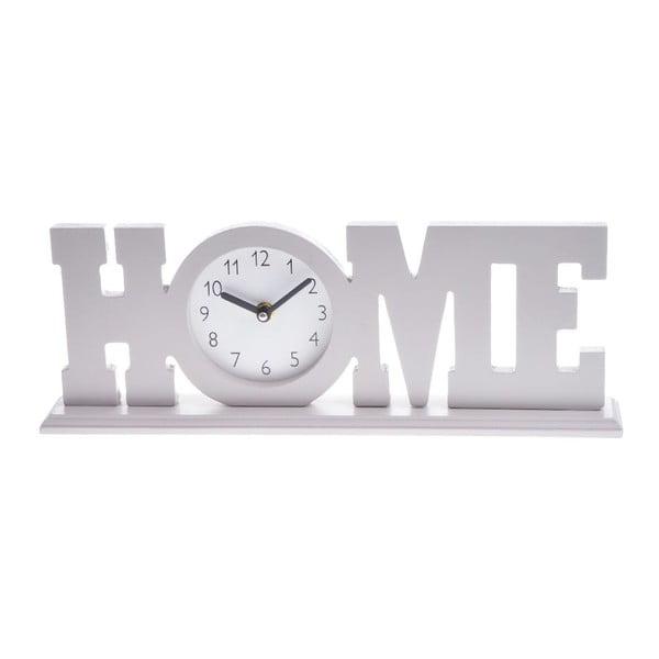 Dřevěné hodiny Beige Home