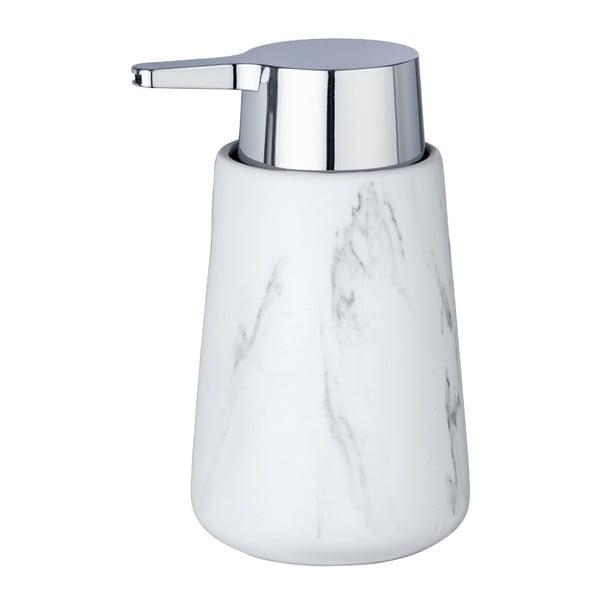 Biały ceramiczny dozownik do mydła Wenko Adrada