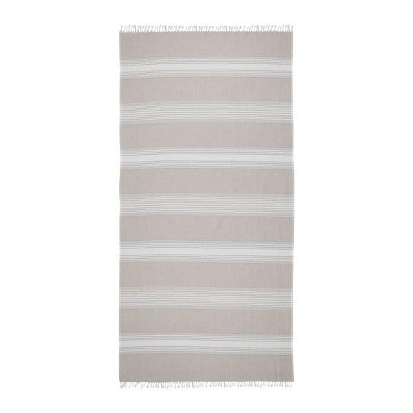 Hammam osuška Loincloth Line Beige, 80x170 cm