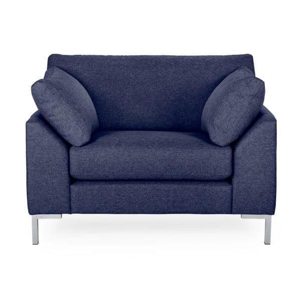 Granatowy fotel Softnord Garda
