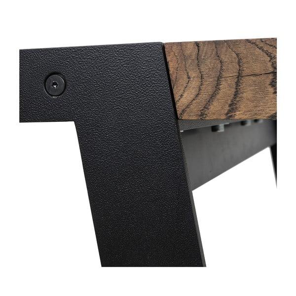 Dřevěný jídelní stůl Canett Aspen, 290cm