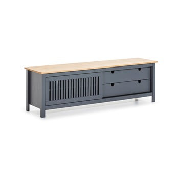 Masă TV din lemn Marckeric Bruna, gri