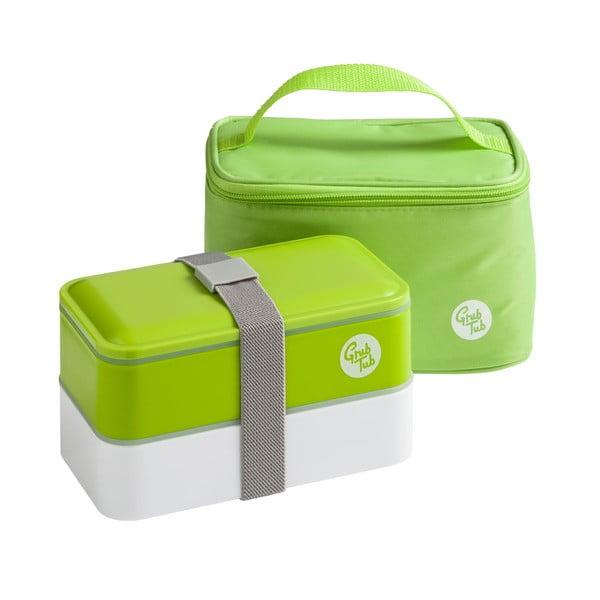 Svačinový box Premier Housewares Cool Bag Green