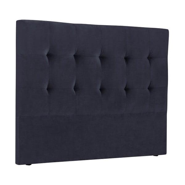Tăblie pat Kooko Home Basso, 120 x 180 cm, albastru închis