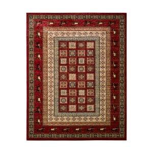 Červeno-béžový koberec Schöngeist & Petersen Gemstone Ruro, 160 x 230 cm