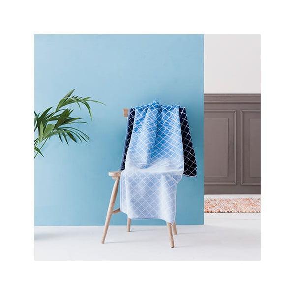 Modrá velká bavlněná osuška Casa Di Bassi Denim, 100 x 180 cm