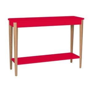 Červený konzolový stolek Ragaba Ashme, šířka105cm