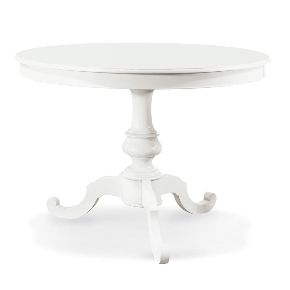 Bílý dřevěný rozkládací jídelní stůl Castagnetti Firenze