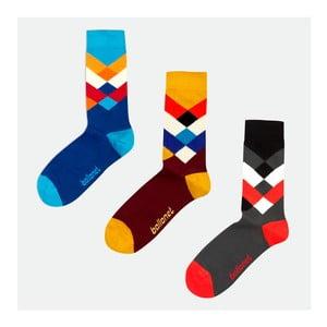 3 páry ponožek Diamond, velikost 41-46