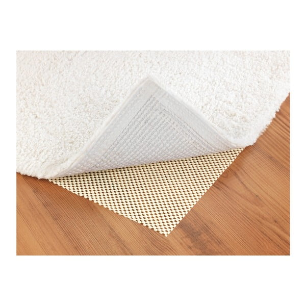 Béžová protiskluzová podložka do zásuvky Wenko Anti Slip Mat 380, 150x50cm