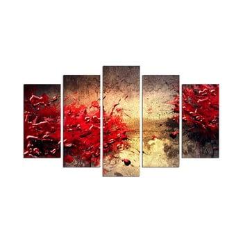 Tablou din mai multe piese Battle Of Red