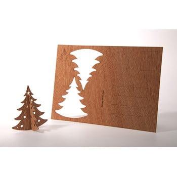 Carte poștală din lemn Formes Berlin Jedlička, 14,8 x 10,5 cm