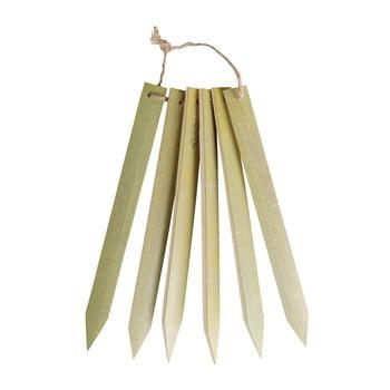 Etichete din bambus pentru marcarea plantelor Esschert Design Garden imagine