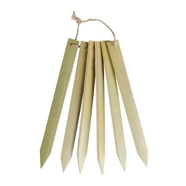 Bambusové štítky pro označení květin Esschert Design Heal