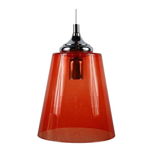 Závěsné svítidlo Lira, oranžové