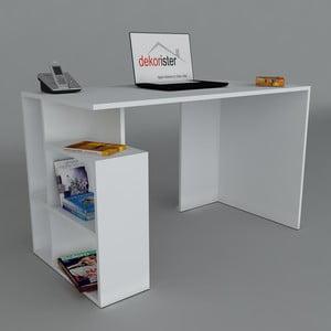 Pracovní stůl Labran White, 60x120x73,8 cm