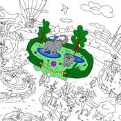 Omalovánky Creative Gifts Zologická zahrada