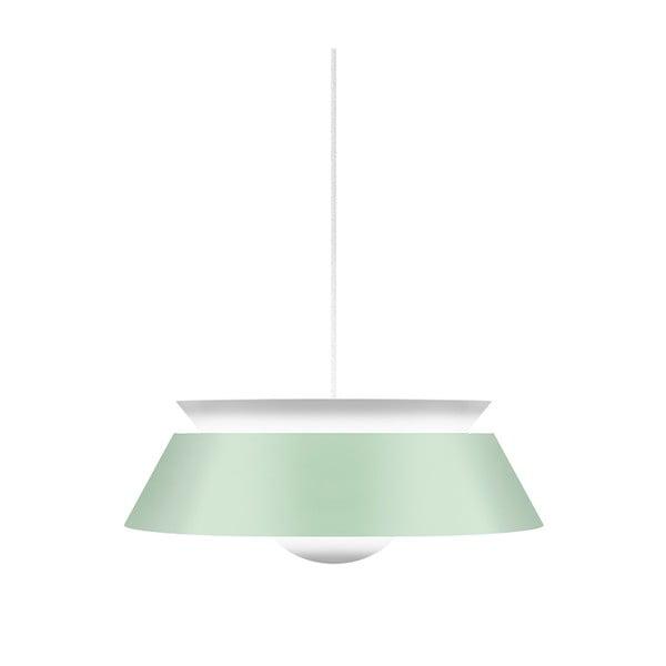 Světle stropní zelené svítidlo VITA Copenhagen Cuna, Ø38cm