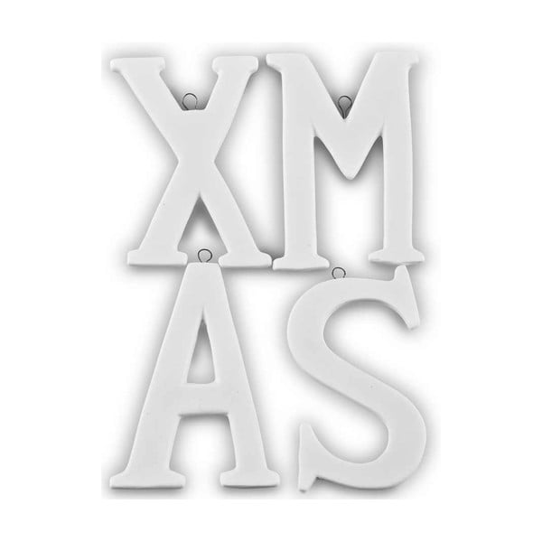 Dekorativní 4 písmena Xmas
