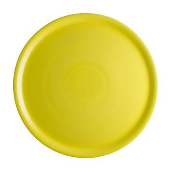 Farfurie din porțelan pentru pizza Brandani Pizza, ⌀ 31 cm, galben de la Brandani