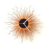 Dřevěné hodiny Medusa, 41 cm