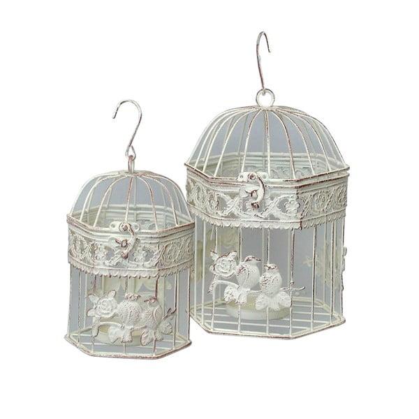 Sada 2 dekorativních klecí Bolzonella Gabbie Mini