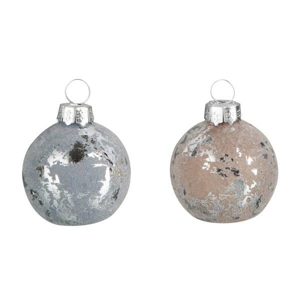 Sada 12 vánočních ozdob Namel, průměr 4 cm