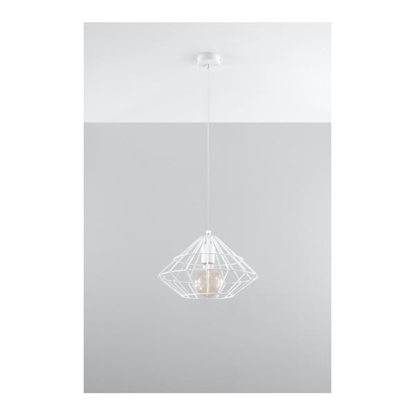 Lustră Nice Lamps Editta, alb