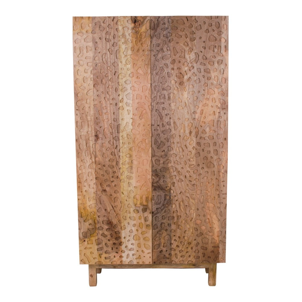 Dvoudveřová skříň z mangového dřeva House Nordic Kapra