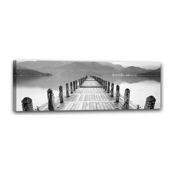 Canvas Molo fali kép, 45 x 140 cm - Styler