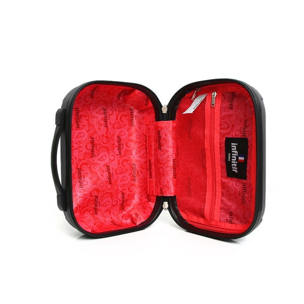 Sada 2 šedých cestovních kufrů na kolečkách Infinitif Oviedo