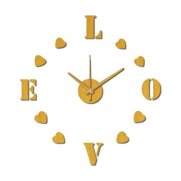 Nástěnné nalepovací hodiny Mauro Ferretti Love, ⌀ 60 cm