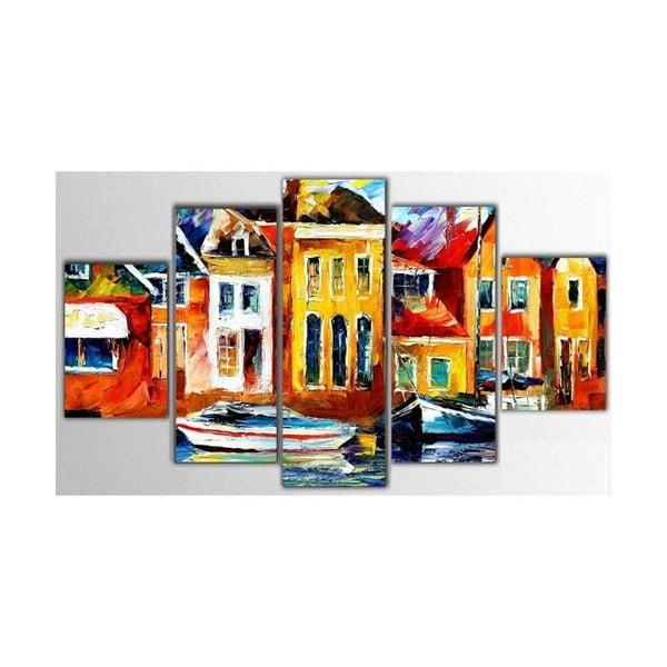 5dílný obraz Color Art, 100x60 cm
