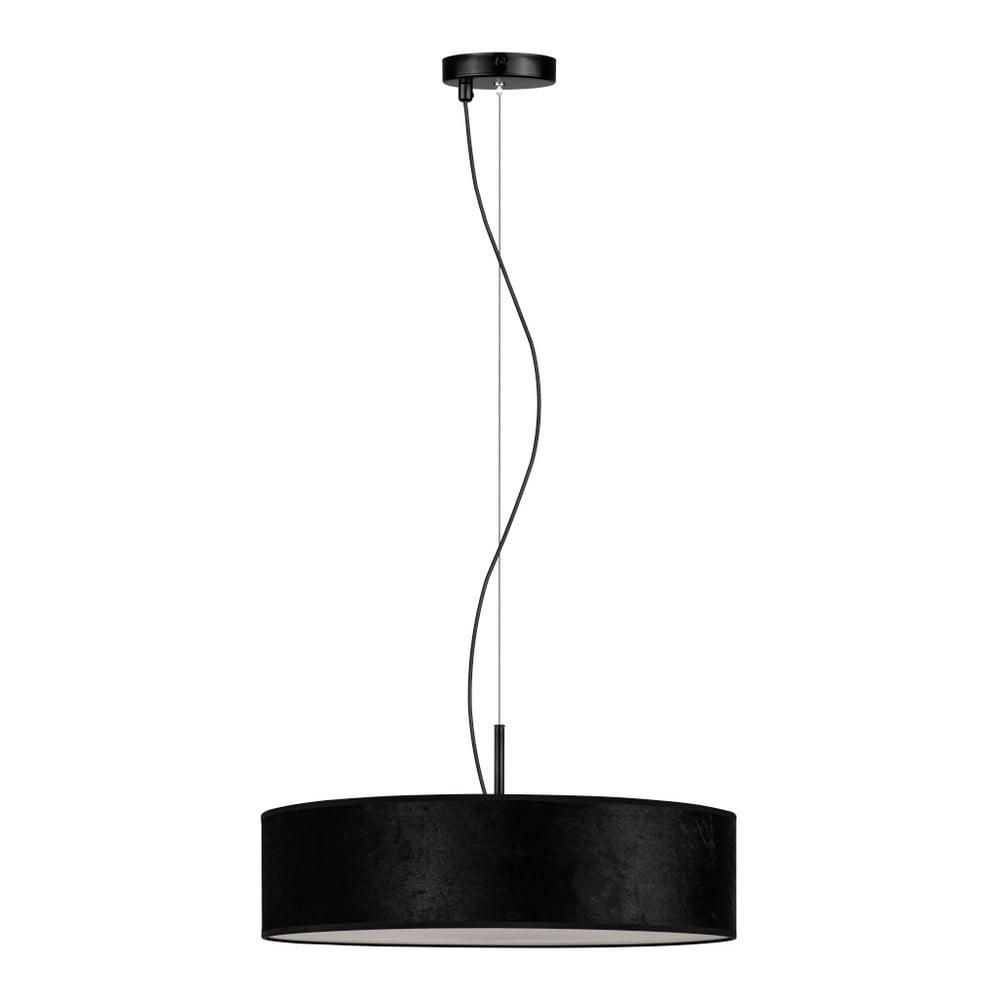 Černé závěsné svítidlo Bulb Attack Quince